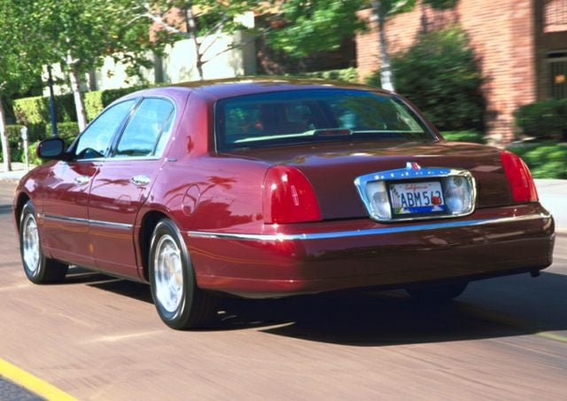 2001 Lincoln Town Car Signature C9022b1 For Sale In Indianapolis In