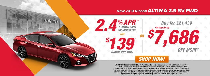 New Used Nissan Dealer Indianapolis In Andy Mohr Nissan